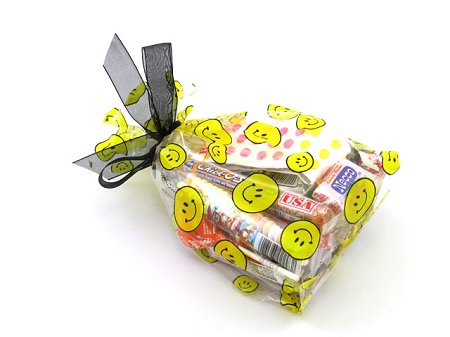Party Favor Bags - Smiley Faces
