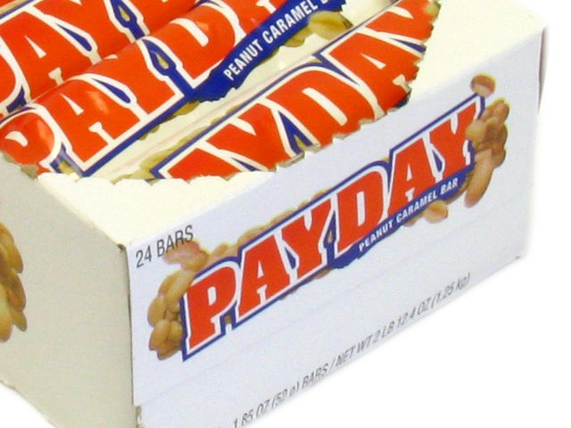 Pay Day - 1.85 oz bar - box of 24 (Candy)