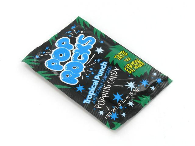 Pop Rocks - tropical punch - 0.33 oz pkg - 1 piece