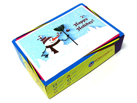 Happy Holidays Decade Gift Box - Snowman