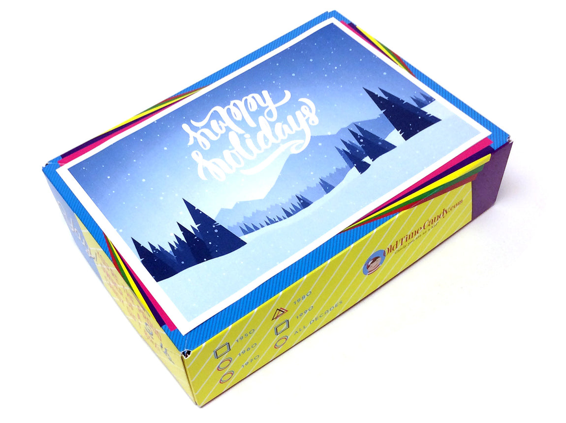 Happy Holidays Decade Gift Box - Holiday Forest