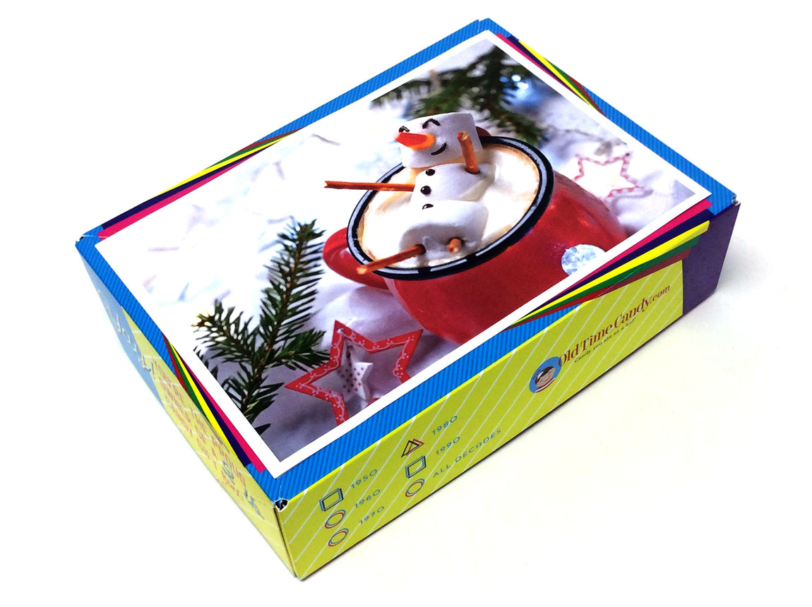 Happy Holidays Decade Gift Box - Marshmallow Man