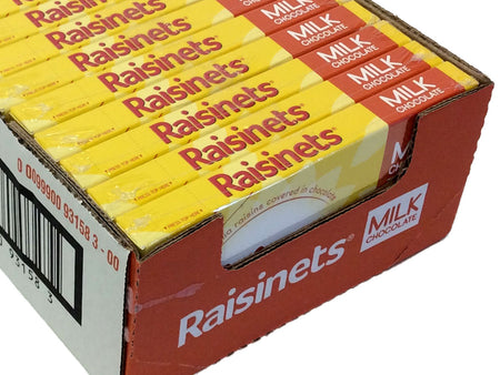Raisinets - 3.5 oz Theater Box - case of 12
