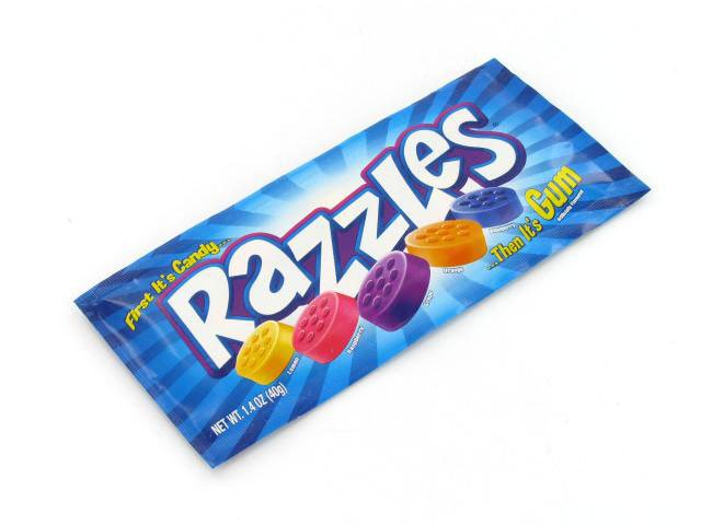 Razzles Original - 1.4 oz pkg - box of 24
