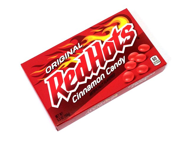 Red Hots - 5.5 oz theater box - case of 12