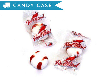 Red Bird Peppermint Puffs - bulk 20 lb case (1600 ct)
