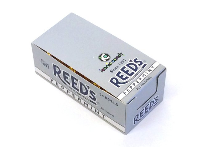 Reed's Peppermint Candy Rolls - box of 24