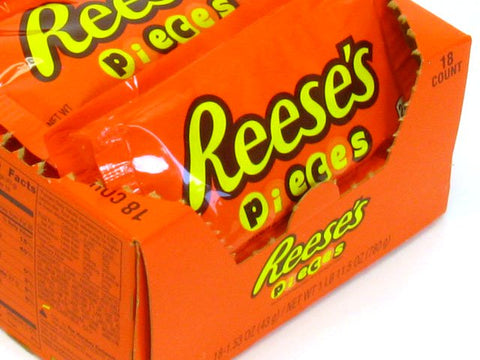 reeses pieces 153 oz pkg box of 18