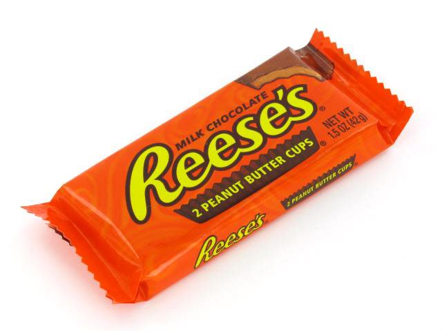 Reese's Peanut Butter Cups 1.5 oz package - OldTimeCandy.com