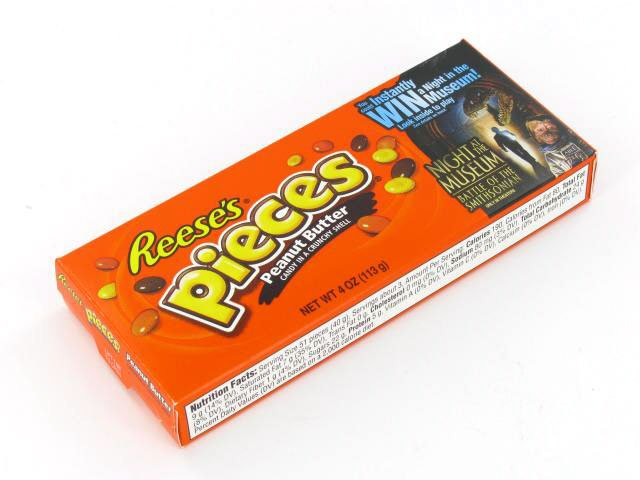 Reese's Pieces - 4 oz theater box - case of 12