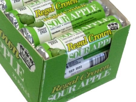 Regal Crown Sour Apple - 1.01 oz roll - box of 24