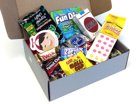 Retro Candy Gift Box - small 1.75 lbs