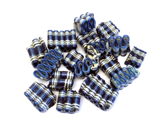 Mini Ribbon Candy - Blue Raspberry - 6 oz bag