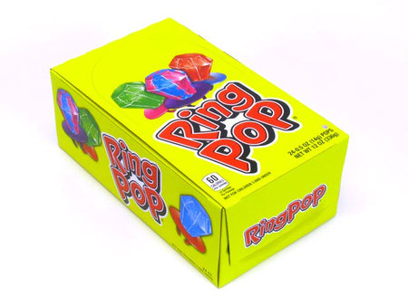 Ring Pops - assorted flavors - box of 24