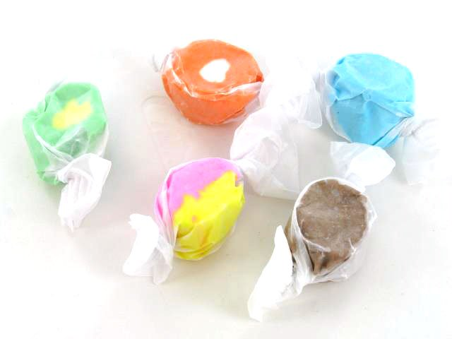 Salt Water Taffy - Assorted Flavors - Bulk