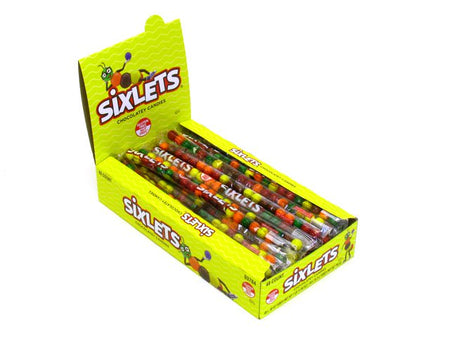 Sixlets - tube of 20 - box of 48