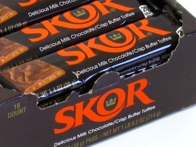 Skor - 1.4 oz bar - box of 18