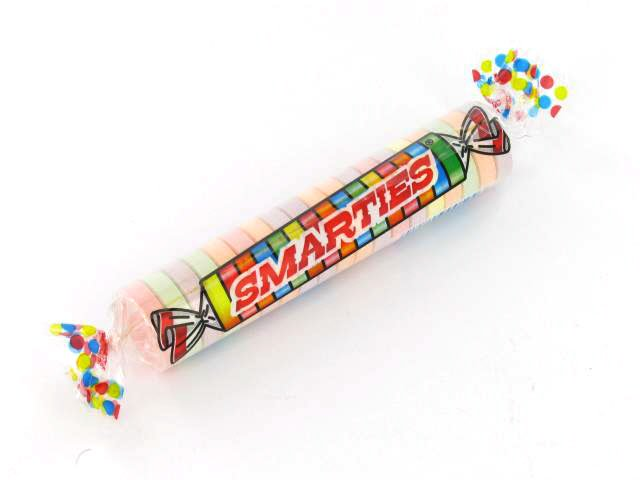 Smarties - Mega Size - 2.25 oz roll - box of 24