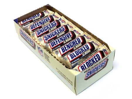 Snickers Almond (Mars Bar) - 1.76 oz bar - box of 24