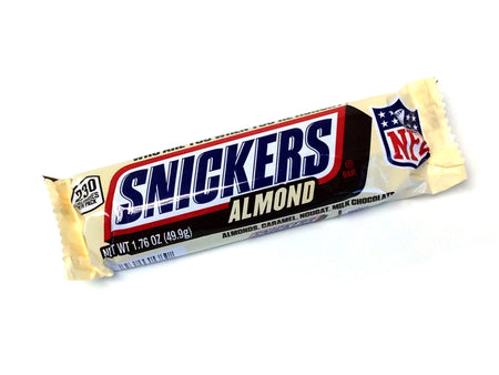 Snickers Almond (Mars Bar) - 1.76 oz bar
