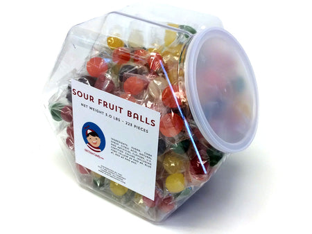 Sour Fruit Balls