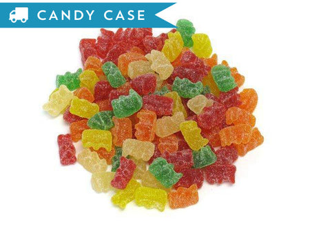 Gummi Sour Bears - bulk 18 lb case (2200 ct)
