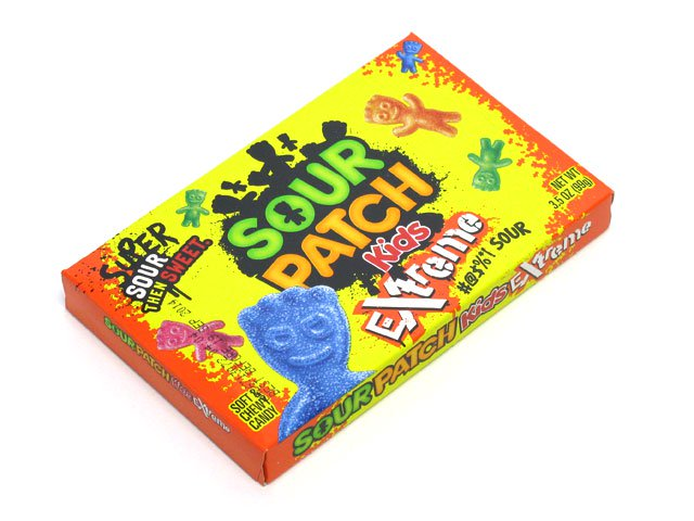Sour Patch Kids Extreme - 3.5 oz theater box - case of 12