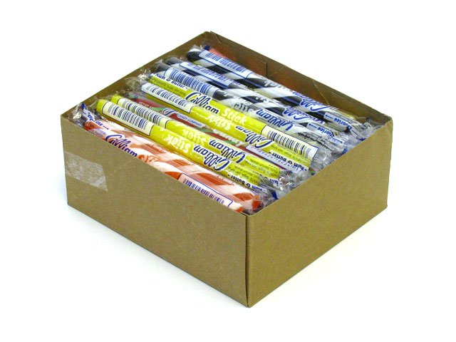 Stick Candy - assorted flavors - box of 80