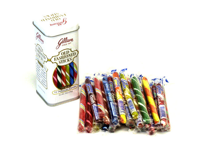 Stick Candy 12 oz Old Fashioned Tin - case of 12