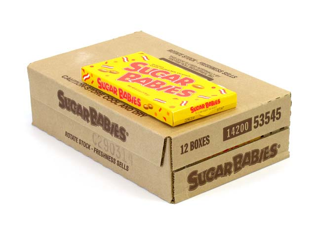 Sugar Babies - 6 oz theater box - case of 12
