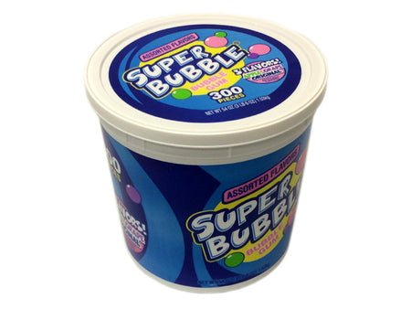 Super Bubble Assorted Flavors - 300 piece tub