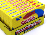 Swedish Fish - assorted - 3.5 oz theater box - case of 12