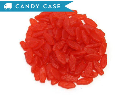 Swedish Fish - Mini Strawberry- bulk 30 lb case (6375 ct)