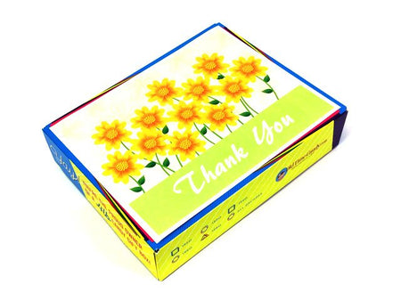 Thank You Decade Gift Box - Sunflowers