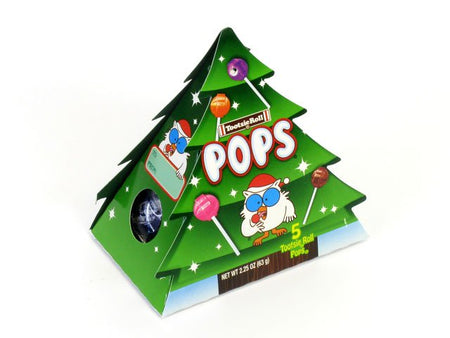 Tootsie Pops 2.25 oz Christmas Tree