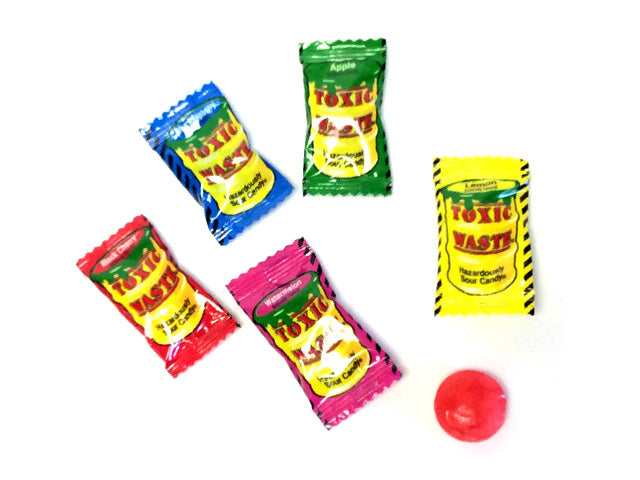 Bulk Toxic Waste Hazardous Sour Candy