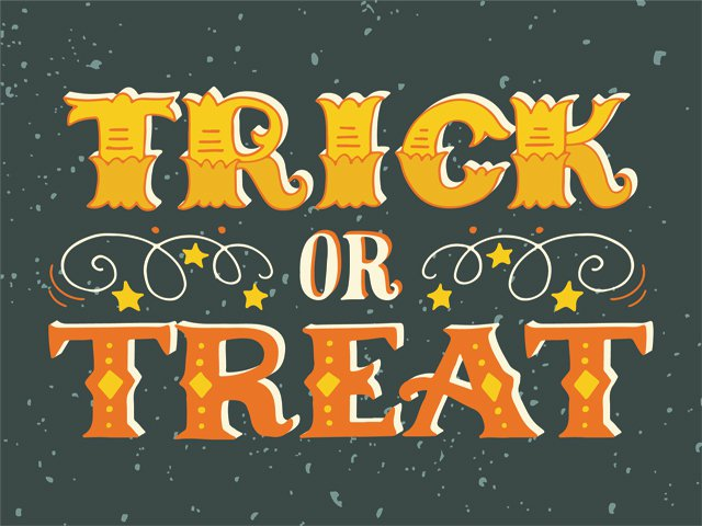 Halloween Decade Gift Box - Trick or Treat