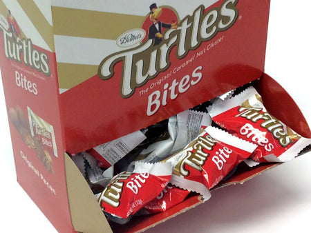 Turtles Original by DeMet's - 0.42 oz Bite-Size - box of 60