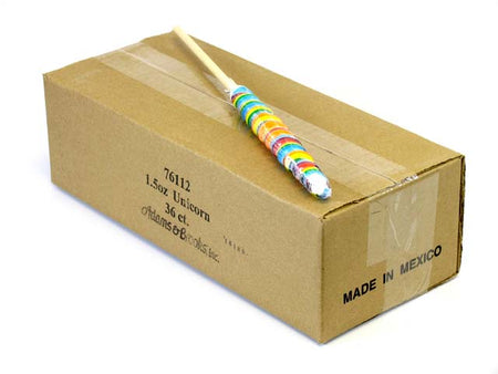 Unicorn Pops - 12 inch (1.5 oz) - box of 36