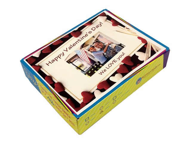 Personalized Valentines Day Decade Gift Box Oldtimecandycom