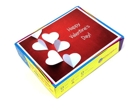 Valentine's Day Decade Gift Box - Folded Hearts