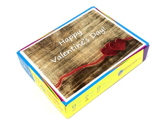 Valentine's Day Decade Gift Box - Hearts on Wood