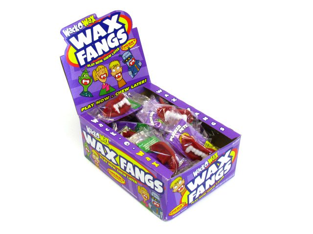 Wax Fangs - box of 24