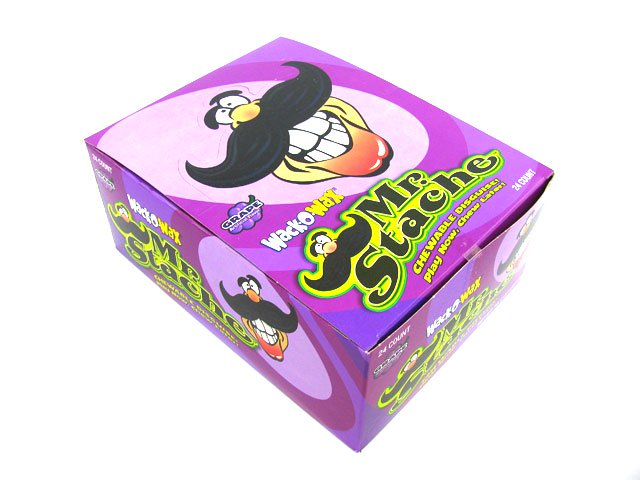Wax Mustaches - box of 24