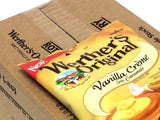 Werther's Soft Vanilla Creme Caramels - 4.51 oz bag - box of 12
