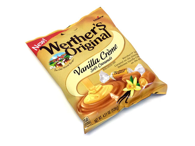 Werther's Soft Vanilla Creme Caramels - 4.51 oz bag
