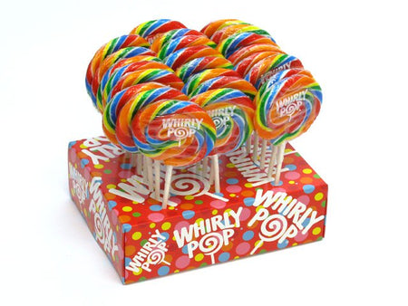 Whirly Pops - 3 inch (1.5 oz) - 24 piece display