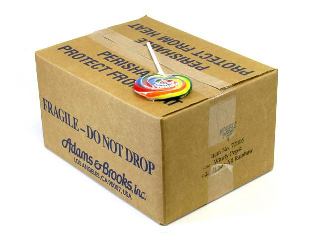 Whirly Pops - 3 inch (1.5 oz) - box of 60