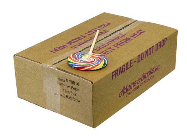 Whirly Pops - 4 inch (3 oz) - box of 48