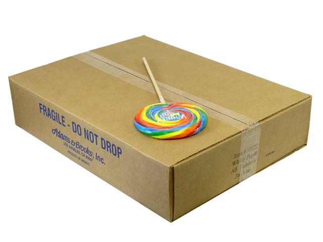 Whirly Pops - 5.25 inch (6 oz) - box of 36